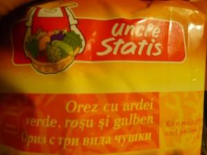 orez cu ardei Uncle Statis