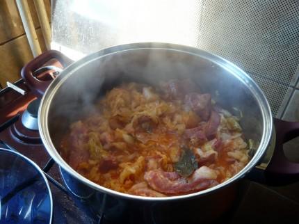 Smoked Ribs - Sauerkraut Cooking