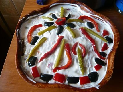 Salata Boeuf - another decoration idea